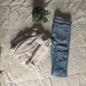 American eagle jeans!